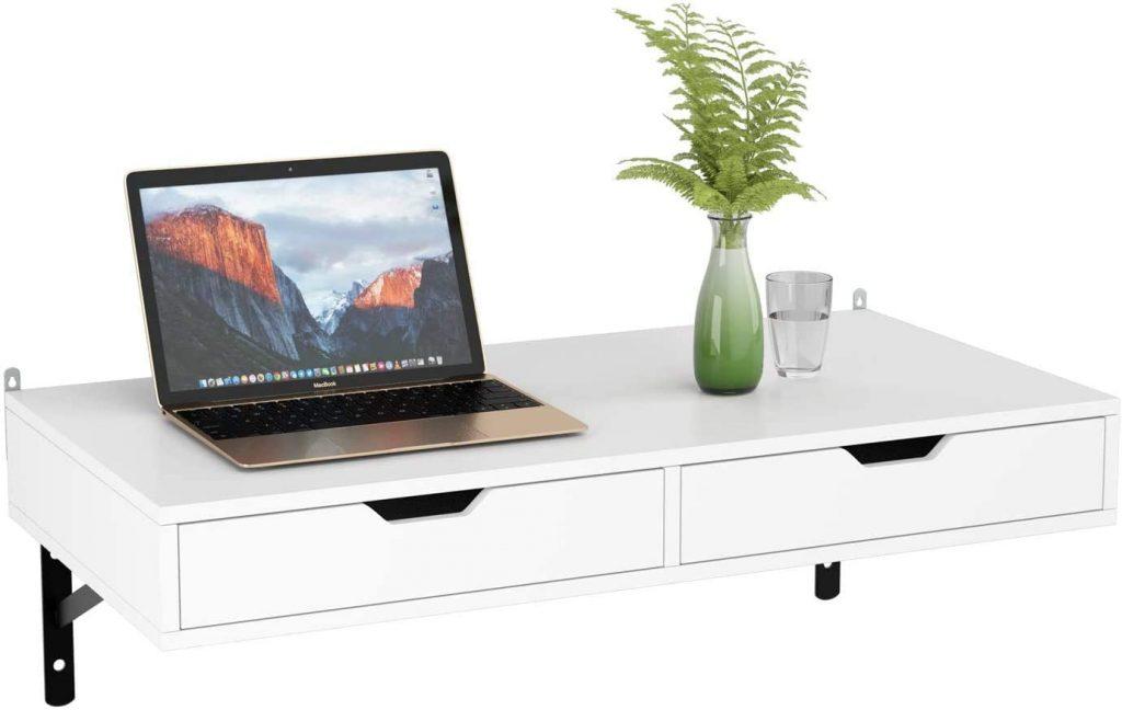 Mesa escritorio colgante