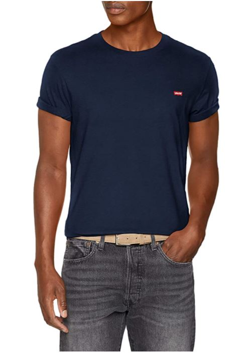 Camiseta básica algodón Levis