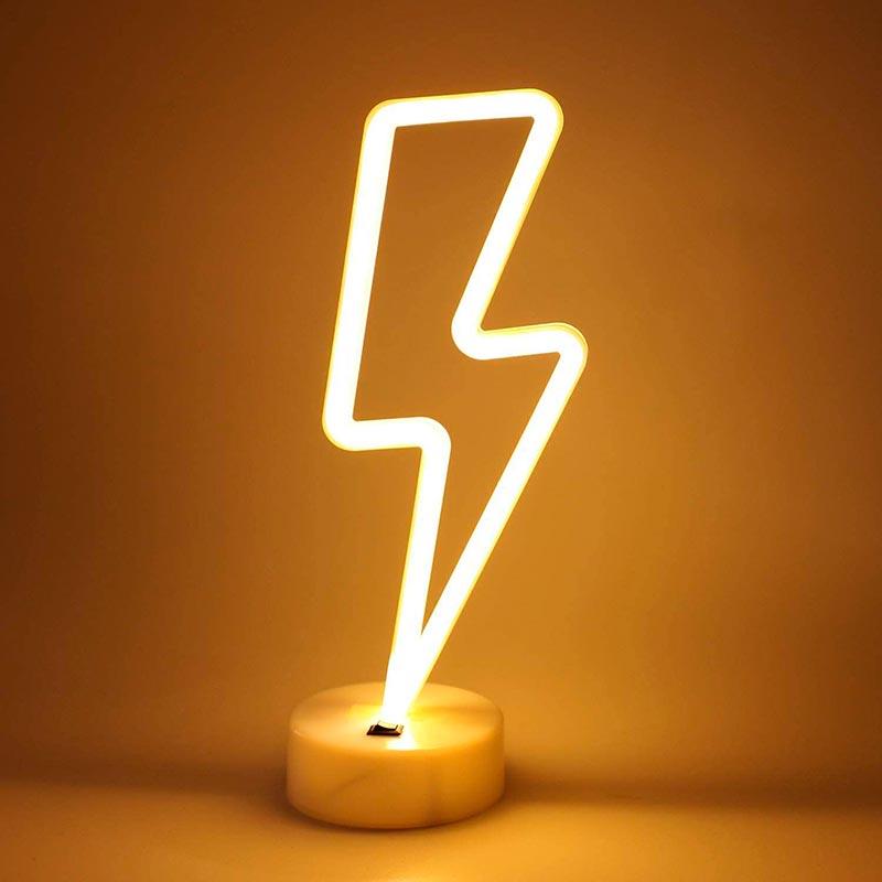 Luz LED rayo YouTuber