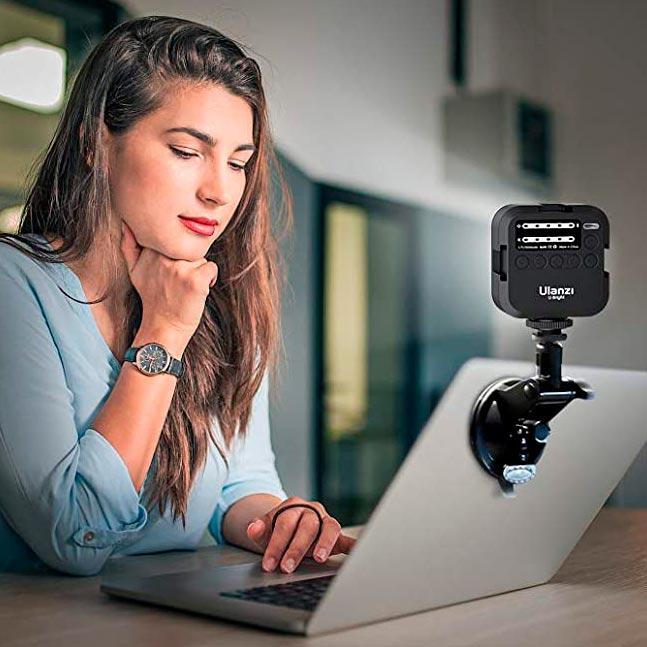 Luz videoconferencia