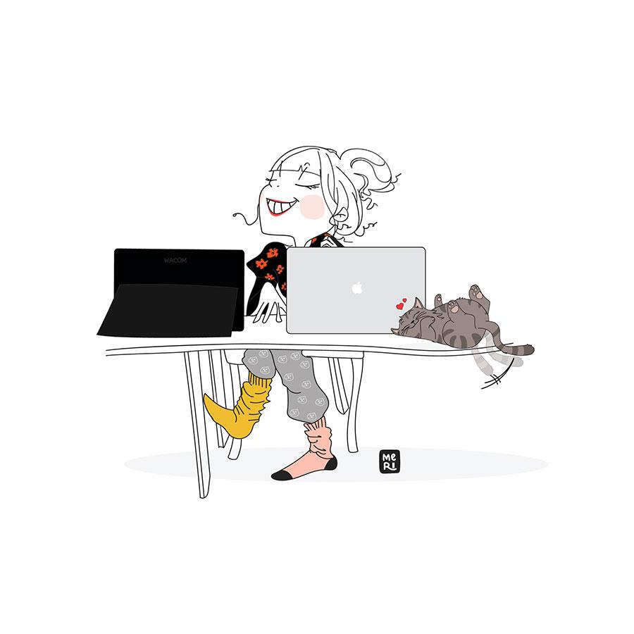 Ilustración de Meri Salvador