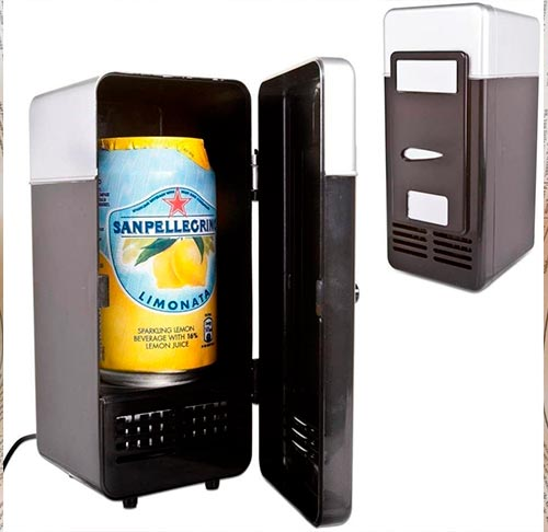 Refrigerador latas USB