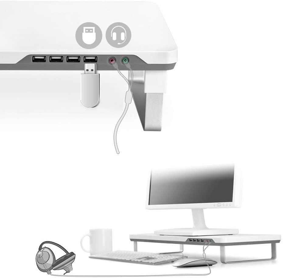 Soporte monitor USB