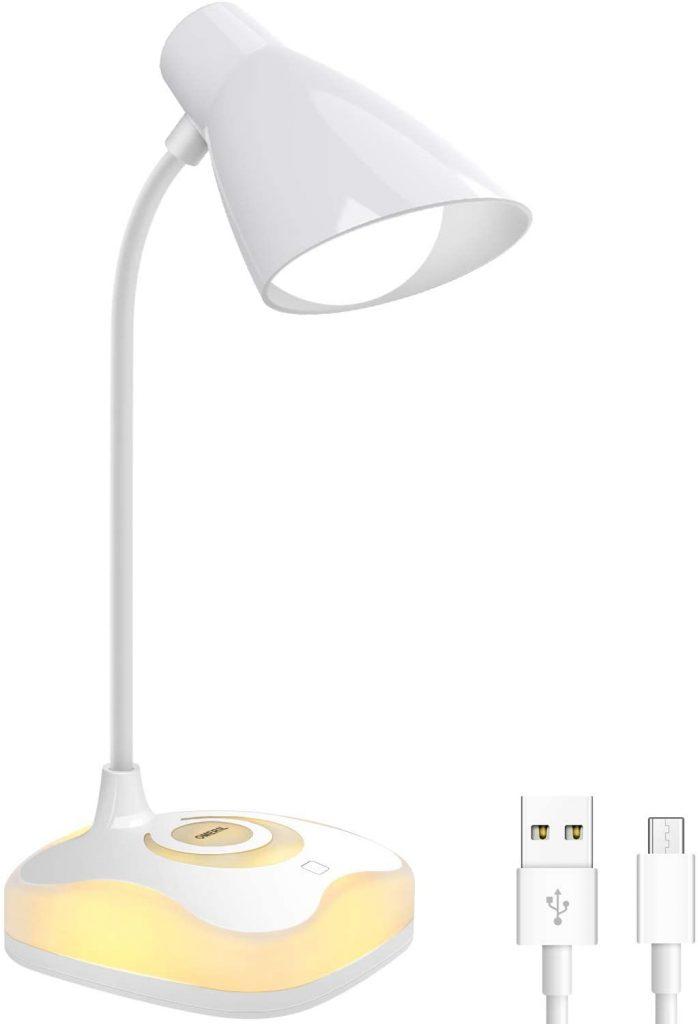 Lámpara LED Escritorio USB recargable