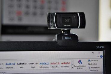 Webcams para trabajar en casa